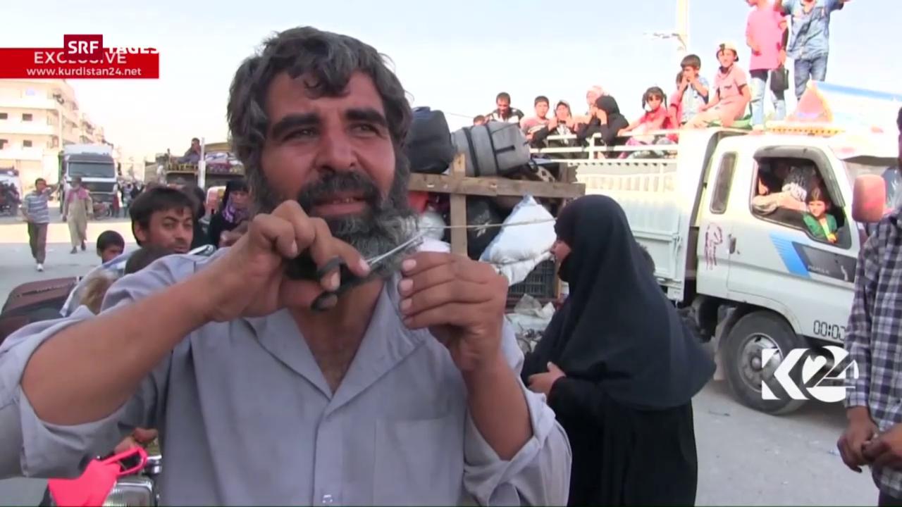 Die Islamisten sind weg, der Bart darf ab!