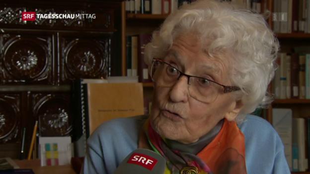 Video «Marthe Gosteli: «Es brauchte sehr viel Aufklärungsarbeit»» abspielen