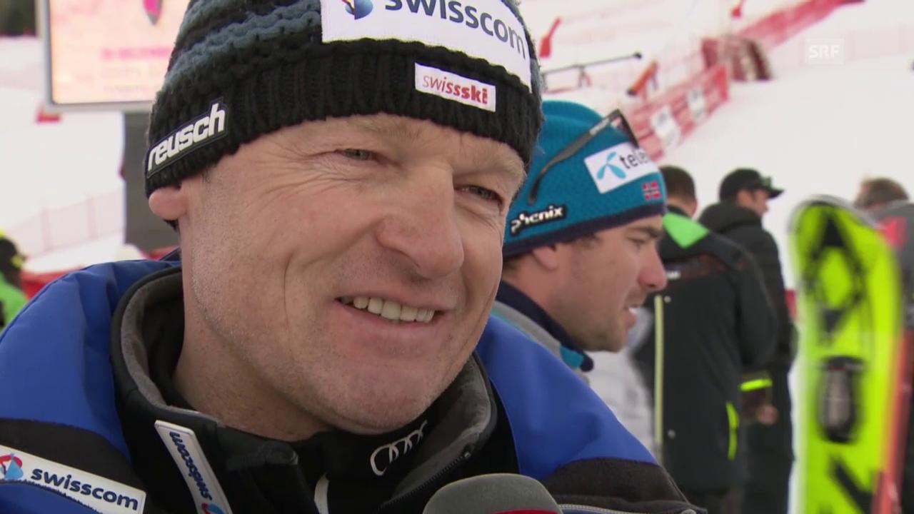 Ski: Riesenslalom Courchevel, Interview mit Frauen-Cheftrainer Hans Flatscher