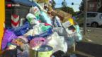 Video «In Rom türmen sich die Abfallberge» abspielen