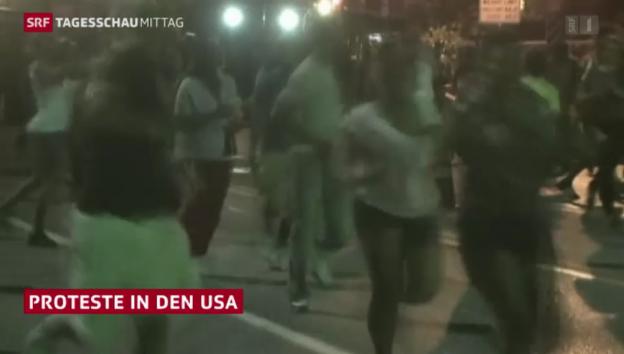 Video «Rassenunruhen in Missouri» abspielen