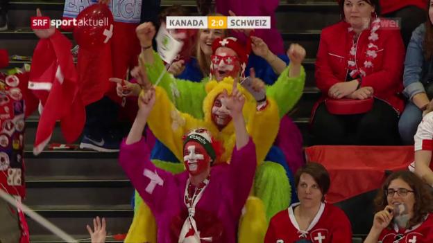 Video «Trotz Fehlstart: Schweiz schafft gegen Kanada die Sensation» abspielen