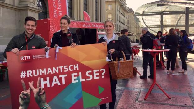 Laschar ir video «Ils highlights da «#Rumantsch, what else?»»