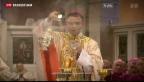 Video «Papst nimmt Amtsverzicht von Bischof Tebartz-van Elst an» abspielen
