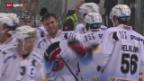 Video «Eishockey: Lugano - Fribourg» abspielen