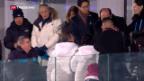 Video «Freundlichkeiten zwischen Nord- und Südkorea» abspielen