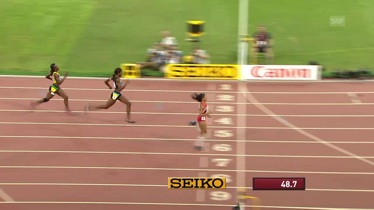 LA: WM in Peking, 400 m der Frauen