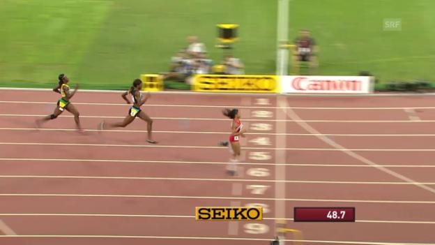 Video «LA: WM in Peking, 400 m der Frauen» abspielen
