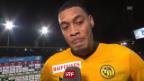 Video «Hoarau: «Schade, wenn man so Punkte abgibt» (Franz.)» abspielen
