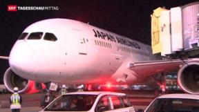 Video «Dreamliner bleibt weiterhin am Boden » abspielen
