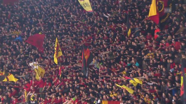 Video «Bern gewinnt auch das 4. Spiel» abspielen