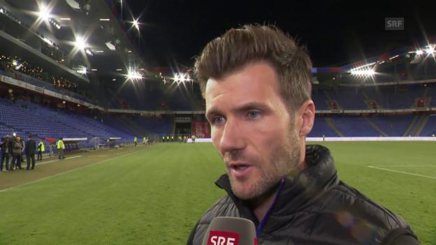 Video «Das sagt FCB-Trainer Wicky zum Sieg über GC» abspielen