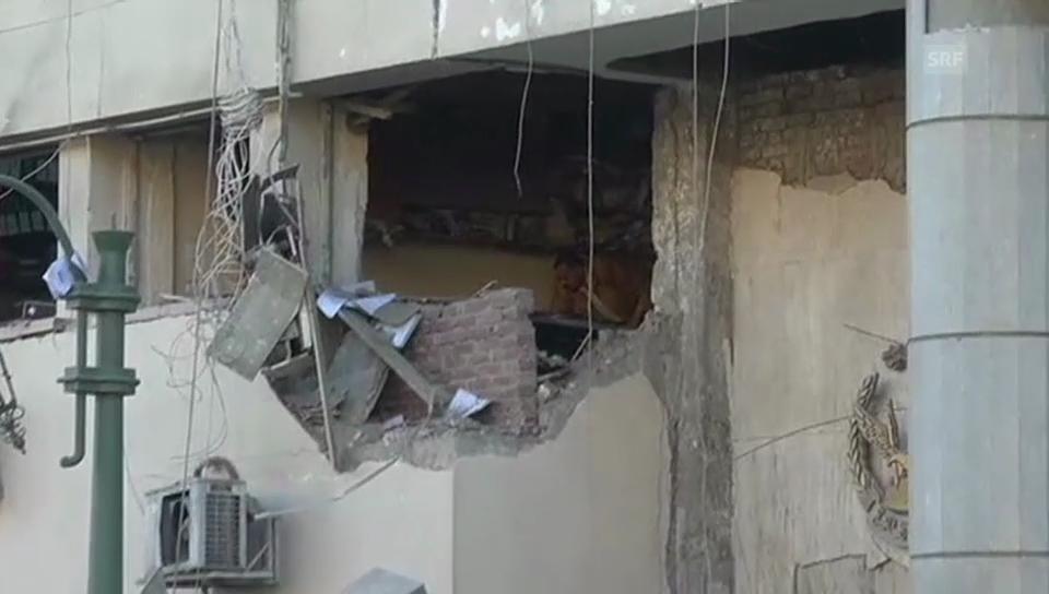 Bombenanschlag auf Polizeihauptquartier in Kairo