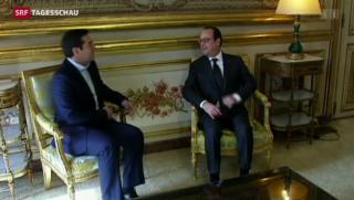 Video «Tsipras bei Hollande» abspielen