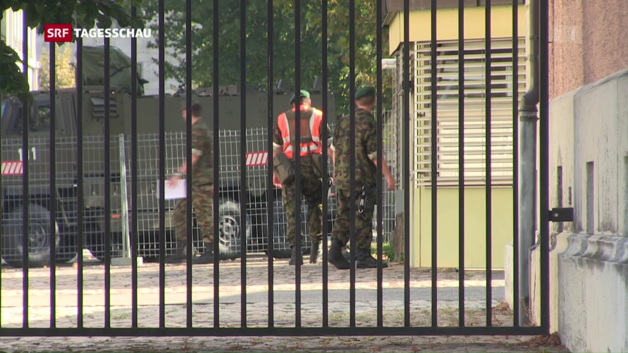 Militärjustiz ermittelt wegen Materialverlusten