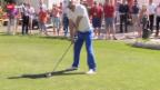 Video «Golf: Michael Phelps in Crans-Montana» abspielen