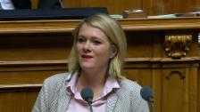 Video «Nationalrätin Kathrin Bertschy bekämpft die Vorlage.» abspielen