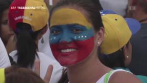 Video «Proteste in Venezuela» abspielen