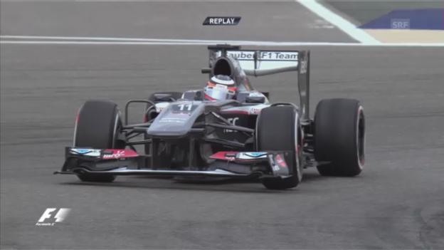 Video «Formel 1: Qualifying GP Bahrain» abspielen