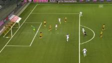 Video «Thuns Dejan Sorgic trifft gegen YB herrlich zum 2:0» abspielen