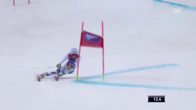 Video «Ski Alpin: Weltcup Adelboden, Riesenslalom, 1. Lauf Janka» abspielen