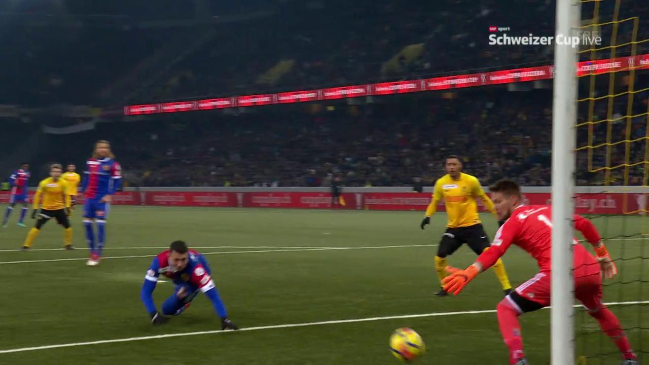 Die Live-Highlights bei YB gegen Basel