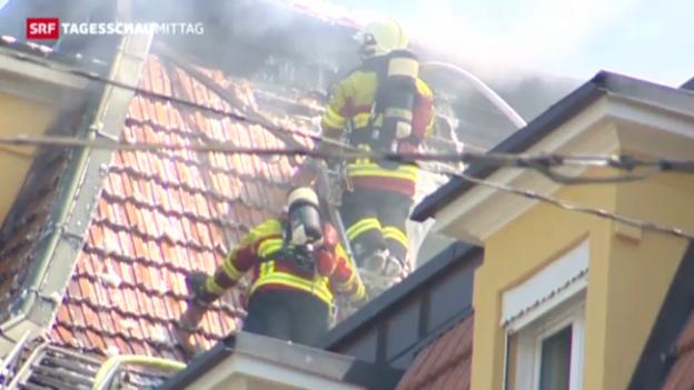 Video «Brand in Luzern» abspielen