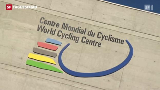 Video «Radsportlegende Armstrong lebenslänglich gesperrt» abspielen