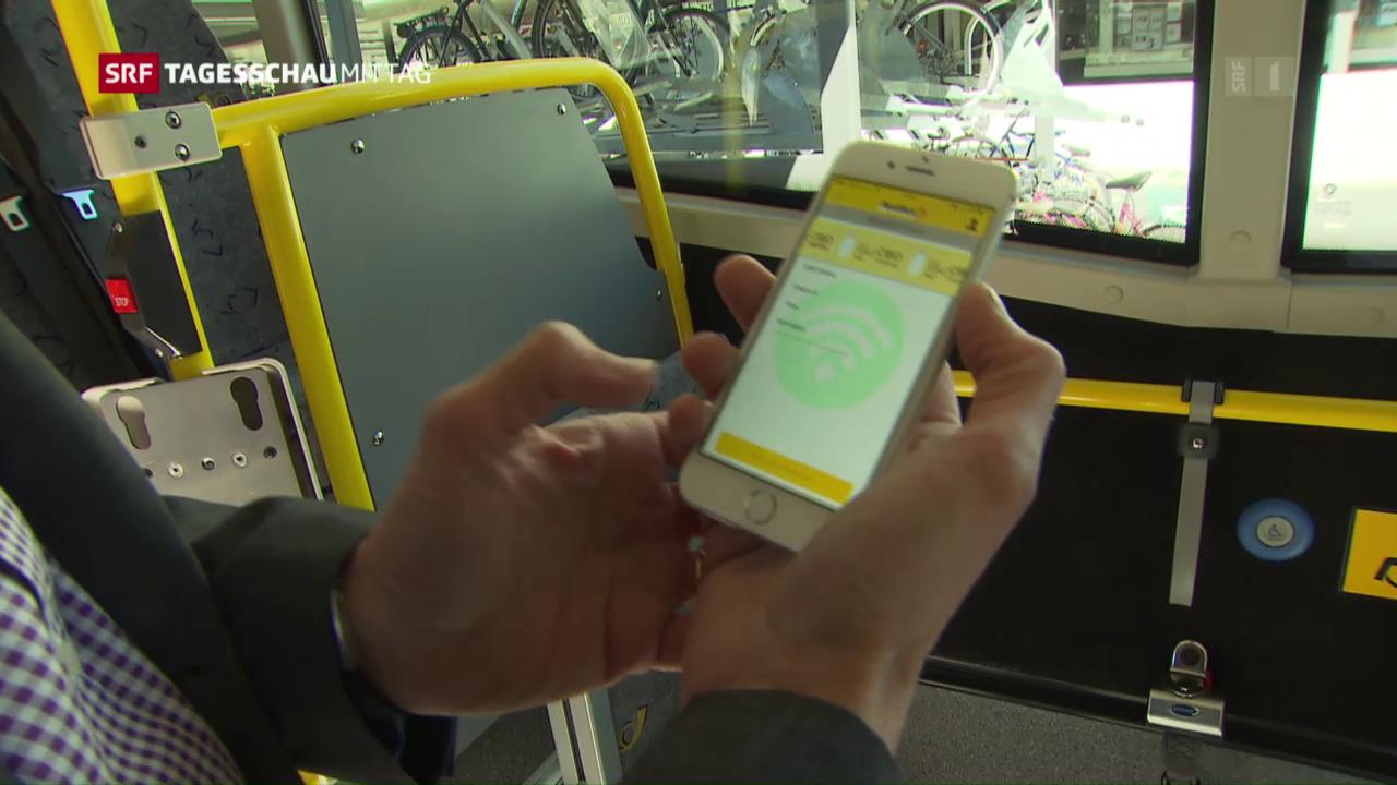 Postauto testet elektronisches Billett