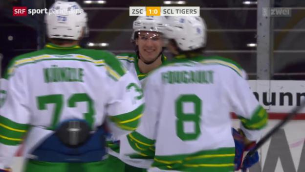 Video «Eishockey: ZSC Lions-SCL Tigers» abspielen