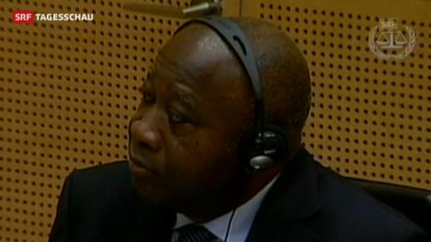 Video «Gbagbo soll für den Tod von etwa 3000 Menschen mitverantwortlich sein» abspielen
