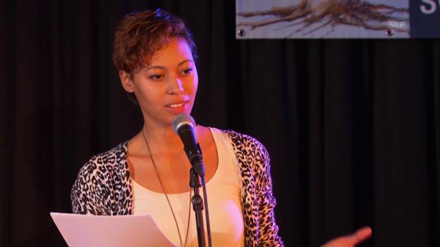 Video «Amina Abdulkadir zum Thema «Körper, Kunst, Philosophie»» abspielen