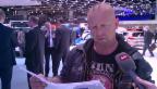 Video «Promis am Autosalon: Aufgebot zur «g&g»-Fahrprüfung» abspielen