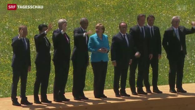 Video «Obama: «Russischer Aggression standhalten»» abspielen