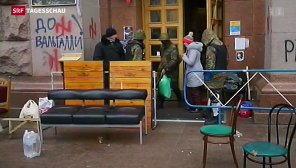 Schweizer Botschafter vermittelt in Kiew