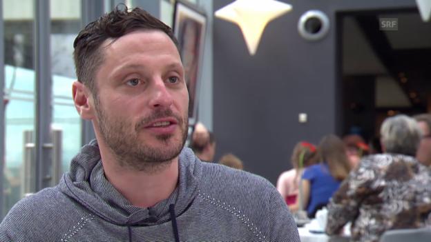 Video «Eishockey: Im Vorfeld der WM 23015 in Tschechien, Interview Mark Streit» abspielen