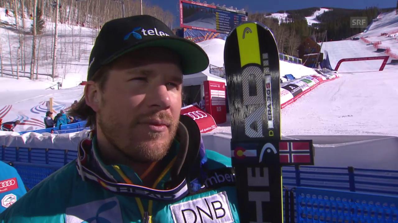 Ski alpin: WM 2015 in Vail/Beaver Creek, Abfahrtsvorschau mit Kjetil Jansrud