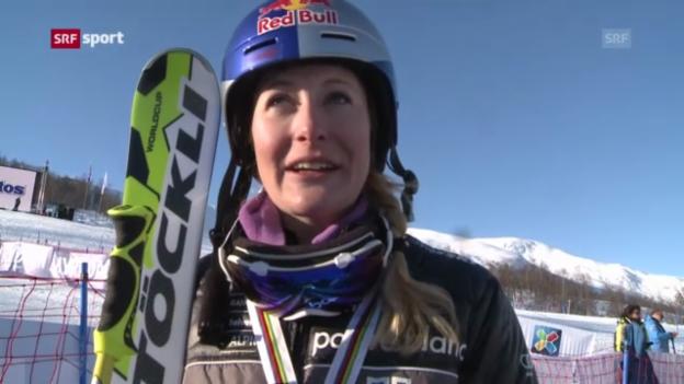 Video «Skicross: WM in Voss» abspielen