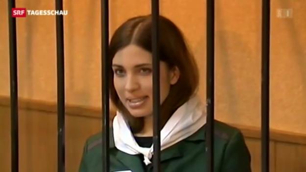 Video «Pussy-Riot-Mitglied bleibt in Haft» abspielen