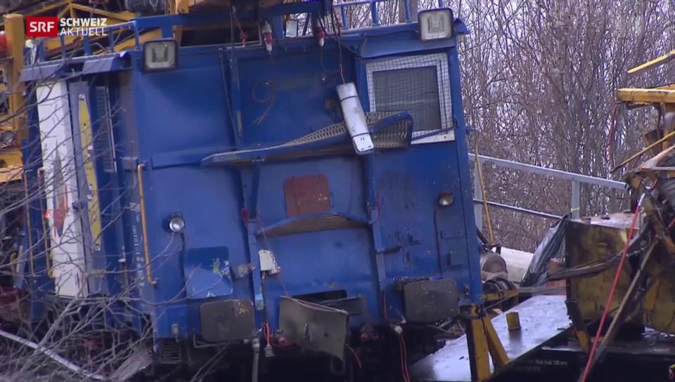 Ein Toter bei Zugunglück auf der Gotthardstrecke