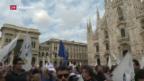 Video «Angespannte Stimmung in Italien» abspielen