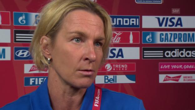 Video «Fussball: Frauen-WM, Die Nati vor dem Spiel gegen Ecuador» abspielen