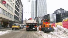 Video «Schnee und Kälte in der Schweiz» abspielen