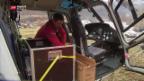 Video «Mit explosiver Ladung in der Luft» abspielen
