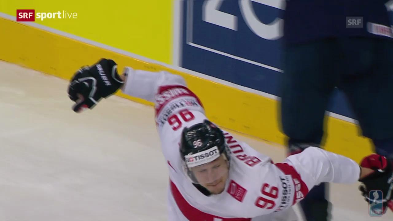 Eishockey: Highlights Schweiz - USA