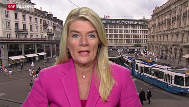 Video «Wirtschaftsredaktorin Marianne Fassbind» abspielen