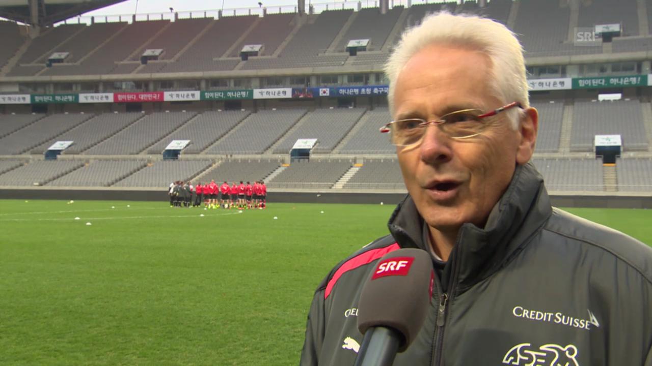 Fussball: Interview mit Nati-Arzt Roland Grossen