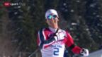 Video «Langlauf: Skiathlon der Frauen («sotschi aktuell», 8.2.2014)» abspielen