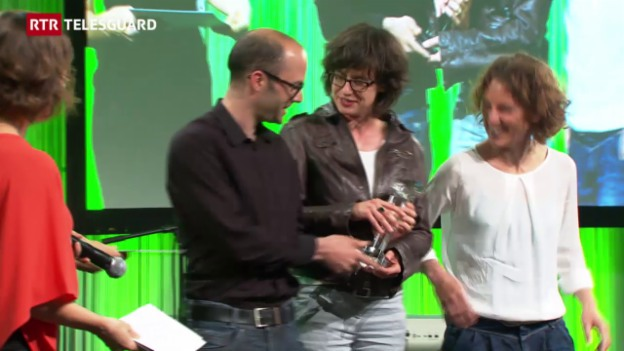 Laschar ir video «Swiss Press Award per il team dal schurnal regiunal GR»