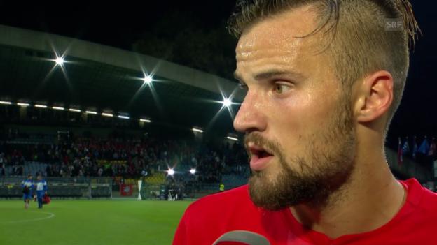 Video «Fussball: Nationalmannschaft, Interview mit Haris Seferovic» abspielen